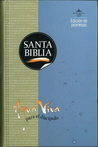 Biblia Agua Viva para el discipulo, Reina Valera 1960