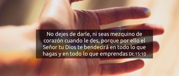 Versículos de la Biblia acerca de dar, la generosidad, el dinero y la honestidad