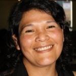 Mujer mapuche comparte su fe