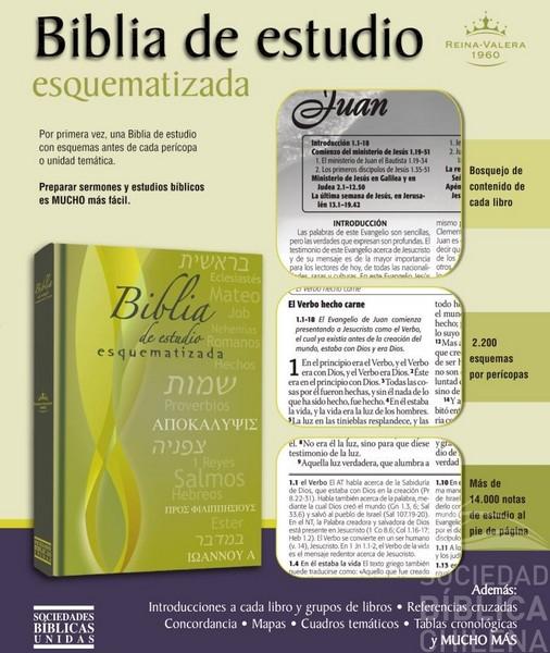 Biblia de Estudio Esquematizada con referencias RVR 1960 | | Tienda ...