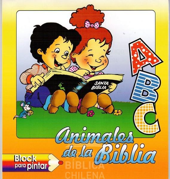 ABC ANIMALES PARA COLOREAR | | Tienda Bíblica