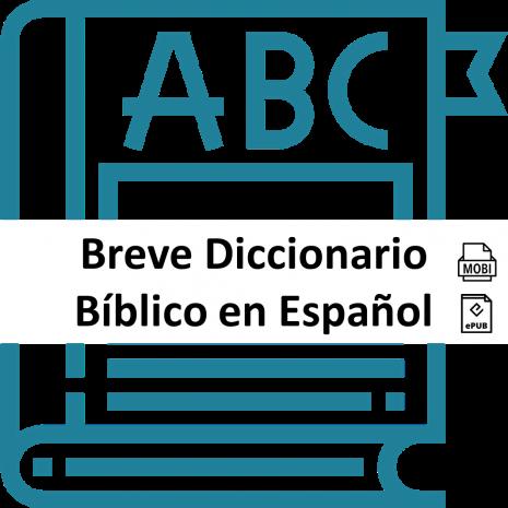 breve diccionario biblico