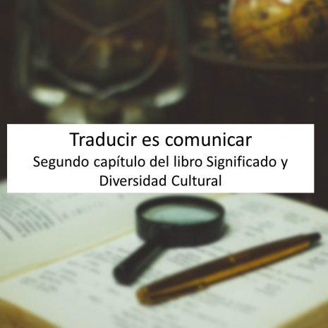 traducir es comunicar